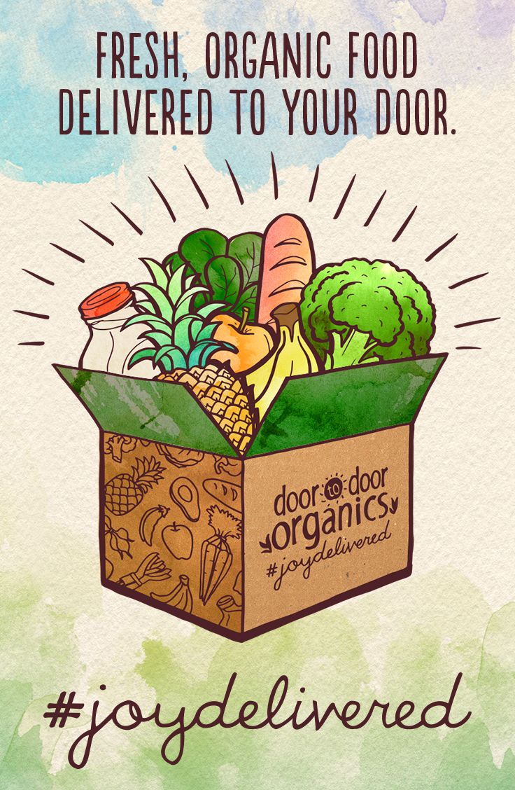 Good Food is on its way. We hand pick & pack every box with fresh, organic produce & local groceries. Eat Better #joydelivered
