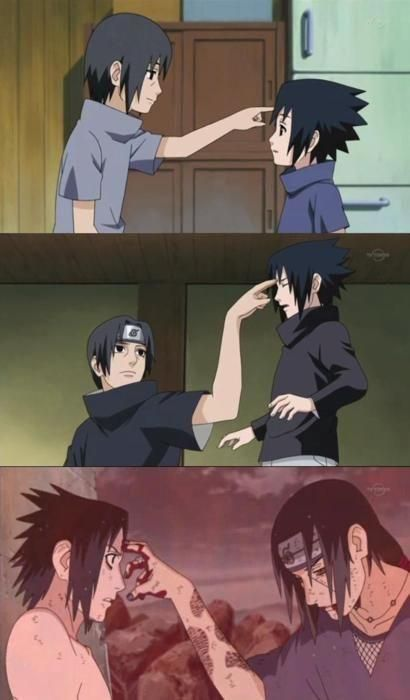 Itachi Uciha & Sasuke Uchiha - Naruto