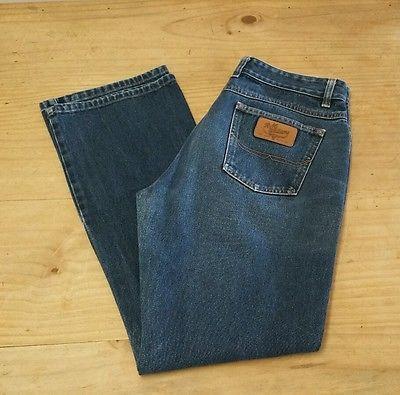 "Ladies RM WILLIAMS Denim Jeans TJ421 Size 14 (Waist 32"") Made in Australia VGC"