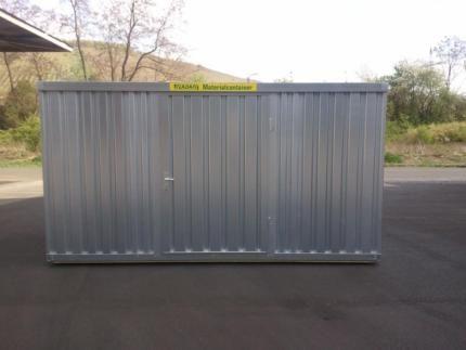 Verkauf und Vermietung!!! Materialcontainer, Blechcontainer, Baucontainer, Lagercontainer, schon ab 900€. Bei Fragen bitte eine kurze email an service@k-log24.de schicken.