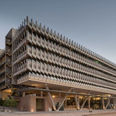 Siemens HQ in Masdar City: Designer: Sheppard Robson Location: Masdar City, Abu Dhabi, United Arab Emirates Area: 22800 sq m Project Year: 2013