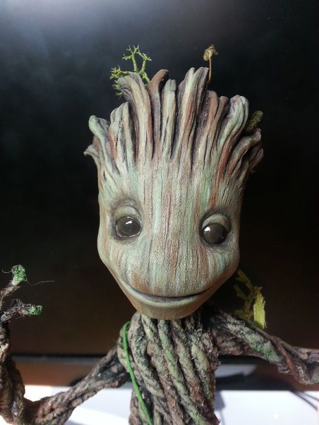 Groot from Guardians of the Galaxy Picture of FINISHED!