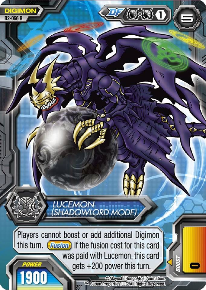 lucemon shadowlord mode cards