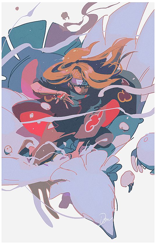 Deidara is pretty cool. I don't hate him or dislike him he's a cool character and he's my brother's favorite.