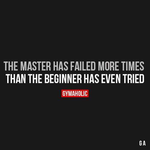 The Master Has Failed More Times