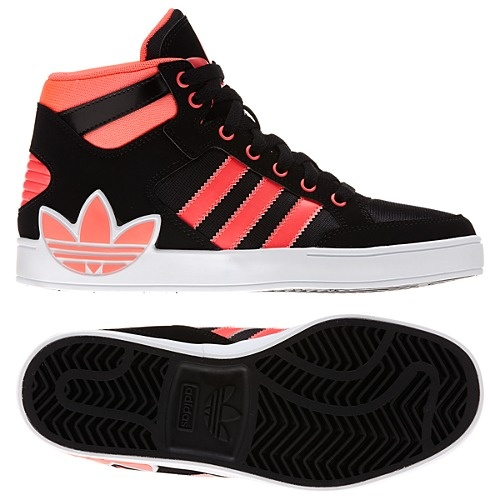image: adidas Hard Court Hi Big Trefoil Shoes Q32562