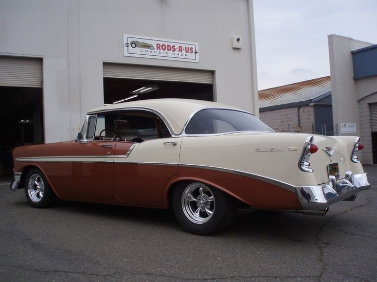 56 Chevy Not A Fan Of But This One Looks Good.