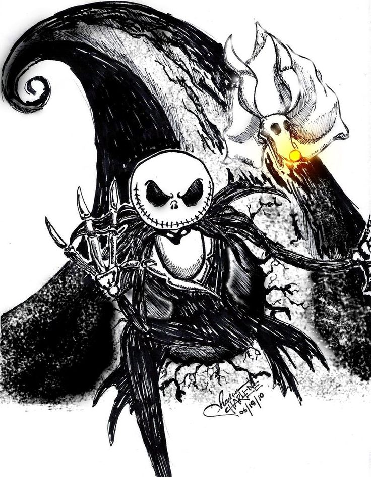 Character Design Nightmare Before Christmas : Nightmare before christmas jack together with his dog