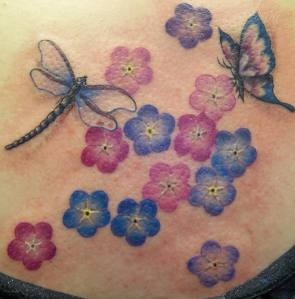 Dragonfly tattoos for pregnancy loss