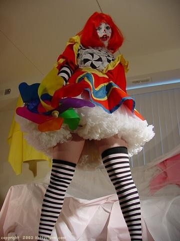 from Darian hot sexy clown pussy