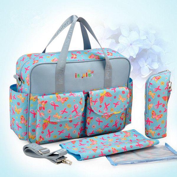 Pelenka Bag Szervező Baby Fashion nyomtatás anya táskák Bolsa De Bebe Váll Messenger Bolsas feminina Pelenka Bag Organizer