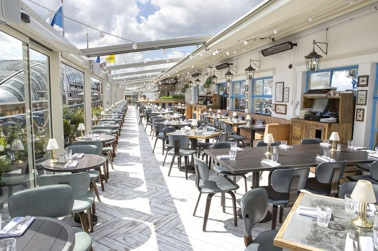 On the Roof with Vintage Salt. If you're after a British seaside escape in central London, you'd be advised to relocate to Vintage Salt on the roof of Selfridges. Head over to The Drift Bar for sundowner cocktails and settle into a deck chair as the sun sets.