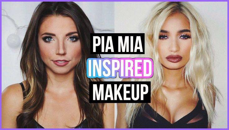 Pia Mia Makeup Tutorial!!!  #piamia #makeup