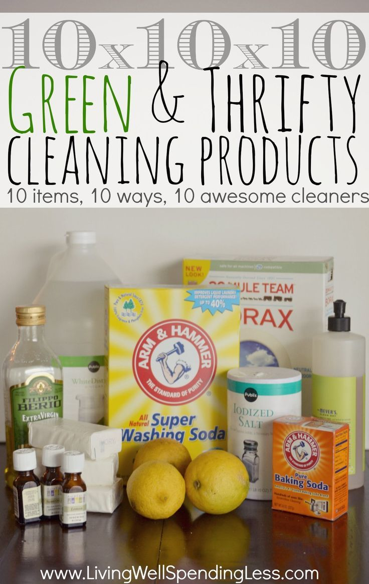 Did you know just 10 pantry staples combined 10 different ways can create 10 awesome homemade cleaners that will clean almost every surface in your house? You probably even have most of them already on hand!