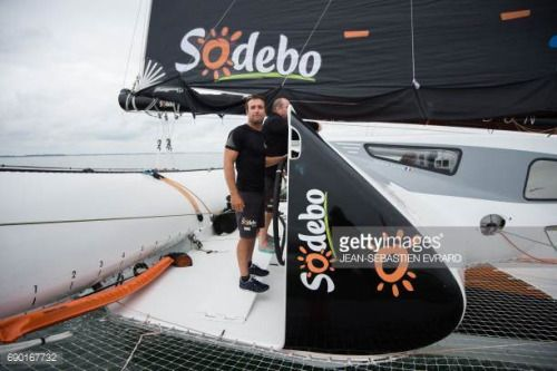 05-30 French skipper Billy Besson sails aboard the…... #lapineda: 05-30 French skipper Billy Besson sails aboard the…… #lapineda