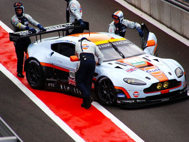 """Aston Martin Racing"" Aston Martin V8 Vantage GTE"