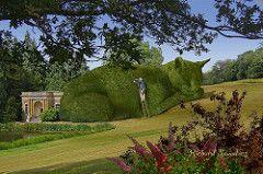 Topiary Cat maintenance . . .