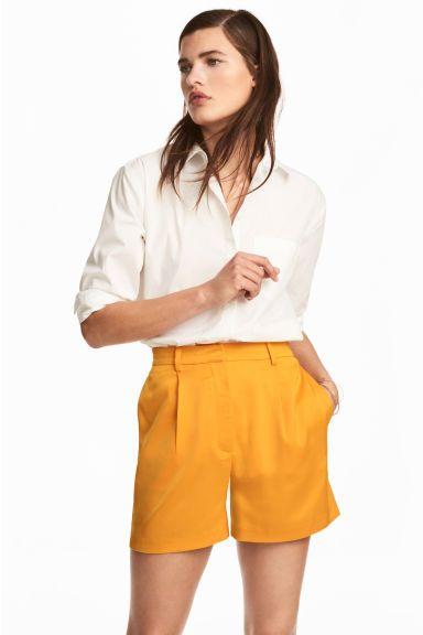 Pantaloni scurți - Portocaliu - FEMEI   H&M RO 1