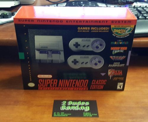 SNES Classic Edition Super Nintendo Mini New Fast Shipping free look | eBay