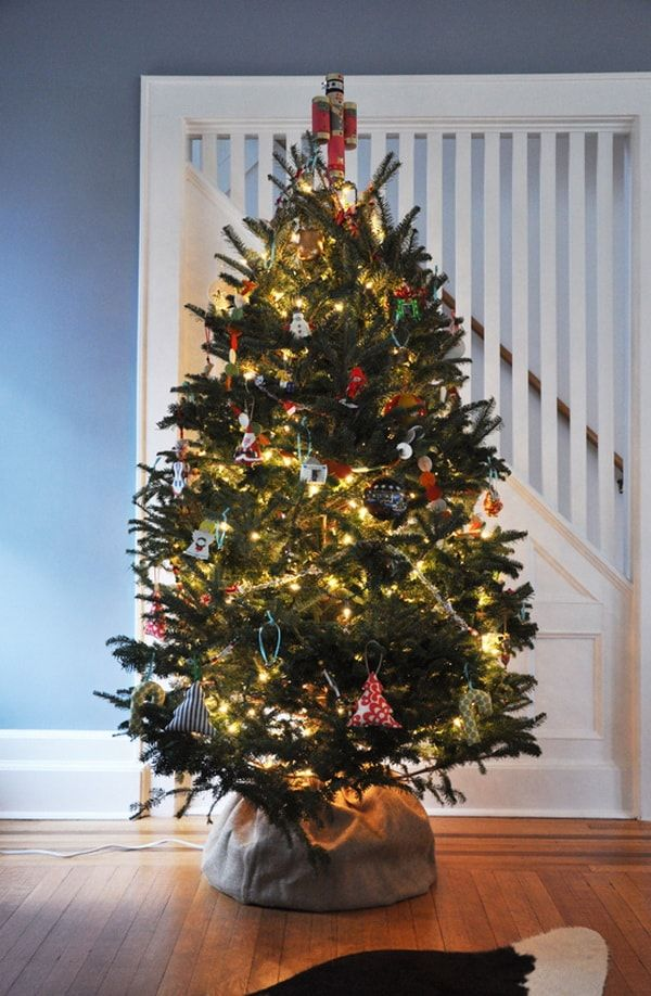 Como Hacer Una Base Para Arbol De Navidad