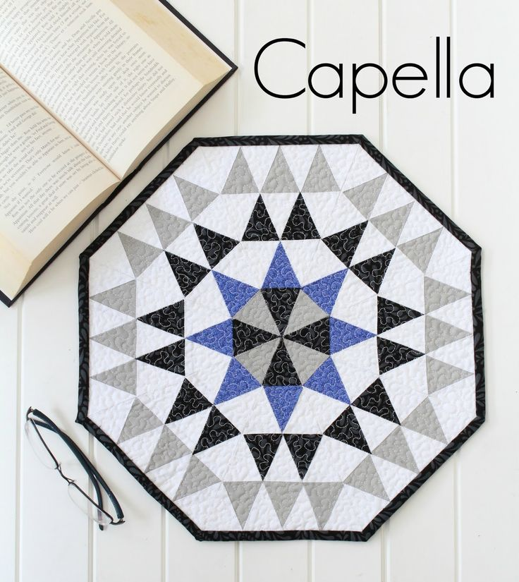 Threadbare Creations- Capella Mini Quilt