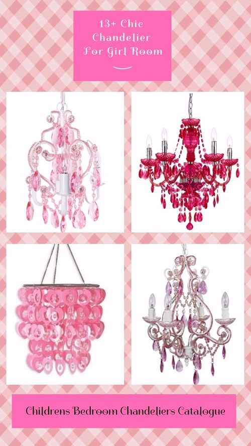 Childrens Bedroom Chandeliers Catalogue: 13+ Chic Chandelier For ...