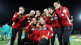 Adversity builds character—for proof, look no further than the women of Canada's Olympic rugby sevens team. The Canadians were able...