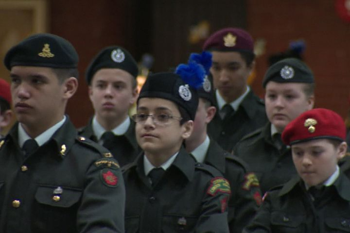 Canada's Department of National Defence confirms all Cadet and Junior Canadian Ranger activities have been temporarily stopped after a soldier was shot and killed at the National War Memorial in Ottawa Wednesday.