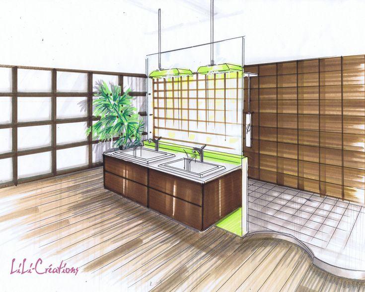 10 best id233es 224 propos de couleurs de salle de bain verts