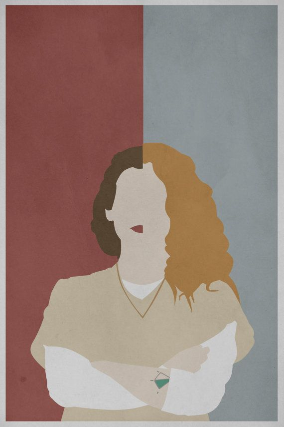 Orange is the New Black Nicky/Morello Print by CitizenNerd on Etsy, $8.00