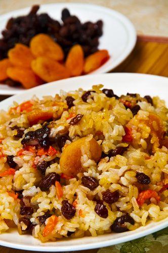 Γεμιστή γαλοπούλα με ρύζι και βερίκοκο