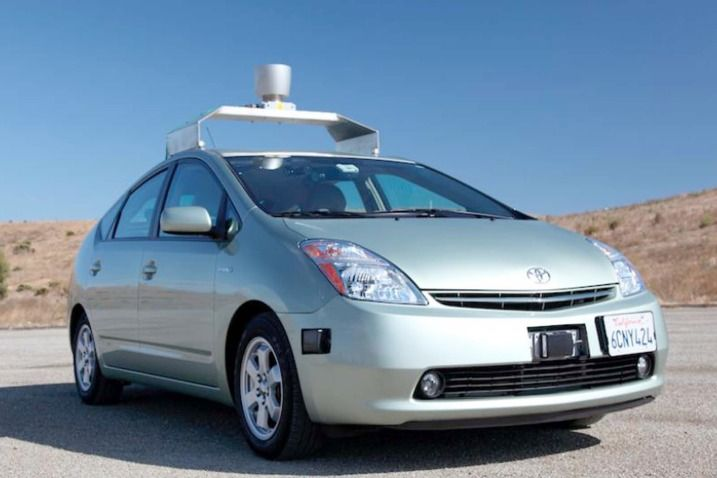Google's Driverless Car. This fleet of robotic cars has driven a combined total of 300,000 miles with no accidents. Through testing on all kinds of roads and hazard conditions, it has performed beautifully, with no accidents. How Will a Driverless Car Benefit Us?   1. Less traffic accidents - most are caused by driver error, 2. Less traffic jams, 3. Less fuel consumption,  4. Allows greater freedom for those people that can't drive due to health reasons. They'll be street legal very soon.