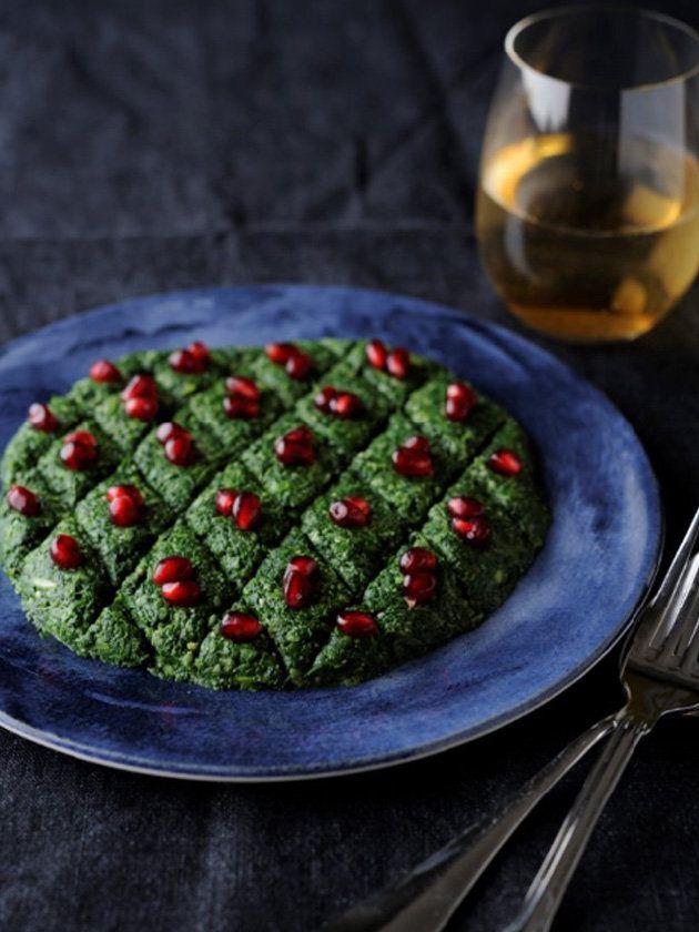 【ELLE gourmet】ほうれん草のプハリ(ほうれん草のくるみ和え)レシピ|エル・オンライン
