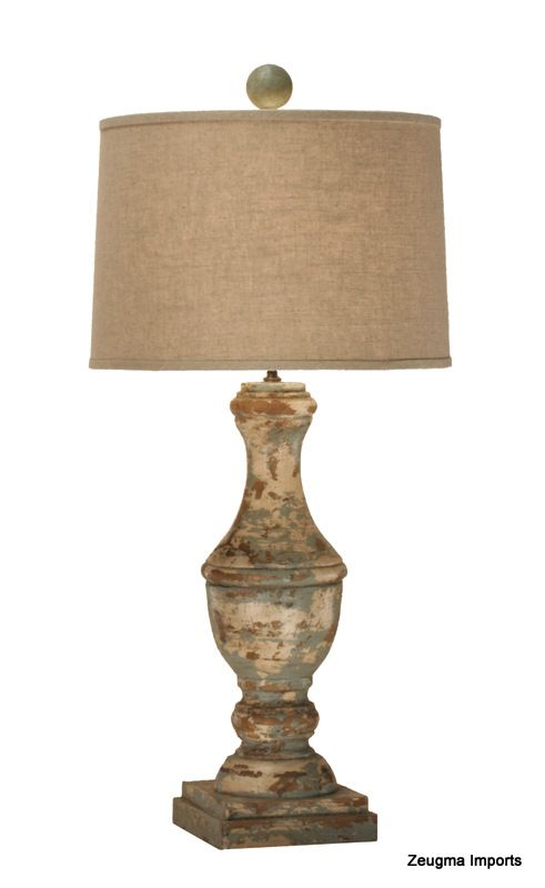 Love the shape of this lamp and the shade.