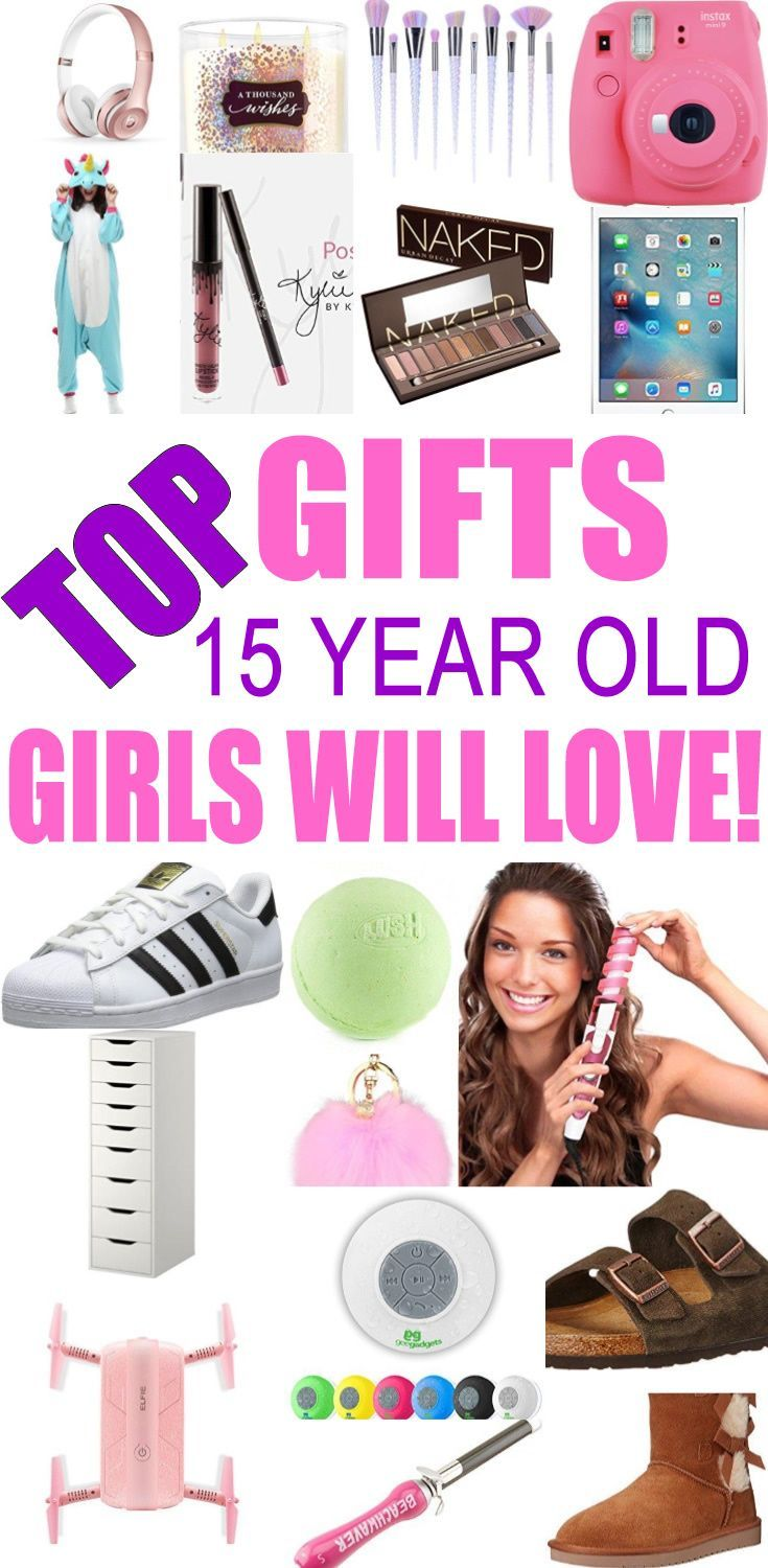 Top Gifts For 15 Year Old Girls! Best gift suggestions & presents for girls fifteenth birthday or Christmas. Find the best ideas for a girls 15th bday or Christmas. Shop the best gift ideas now for tweens & teens. #teenbirthdaygifts