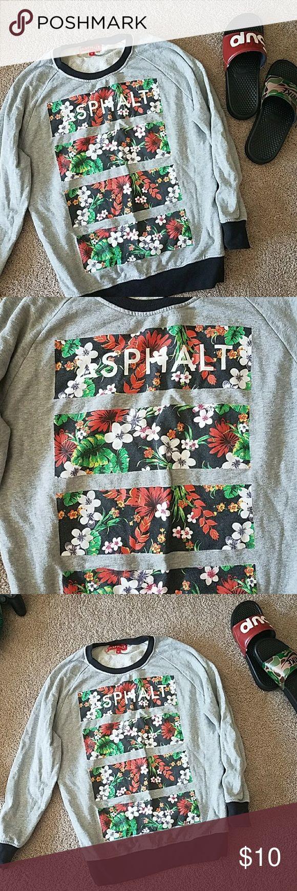 Asphalt sweatshirt Barely used asphalt sweatshirt supreme Sweaters
