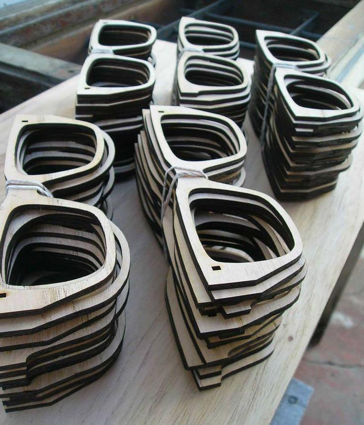 Corte en madera terciada de 3mm