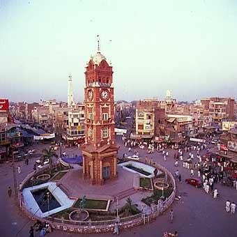 Ghantaghar ( Clock Tower).  Surrounded by wholesale grain market, the bamboo market, spice sellers, colourful local grocery shops,   fabric and jewellery shops, agricultural implements, fruits, vegetables, local beauty products...the list is endless!  Every little shop presents interesting insights about life in this region of Rajasthan.