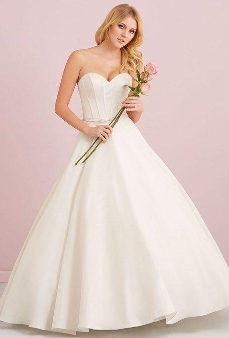 Nice Simple Satin Wedding Gowns