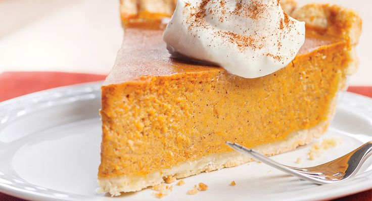 Pumpkin Pie made with McCormick Pumpkin Pie Spice