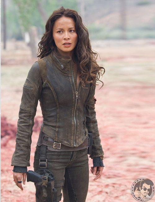 Blair Williams (Moon Bloodgood) in Terminator: Salvation    via chuck90