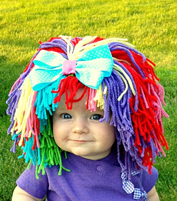 Clown Costume Baby Hat Halloween Costume Clown Wig Baby by YumBaby - Etsy