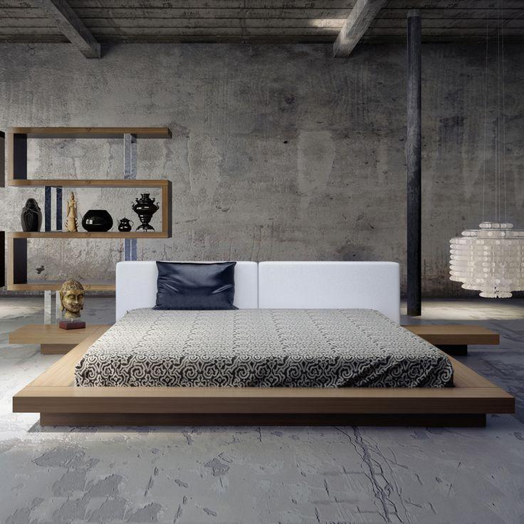 7 best Wood beds images on Pinterest | Wood platform bed, At home ...