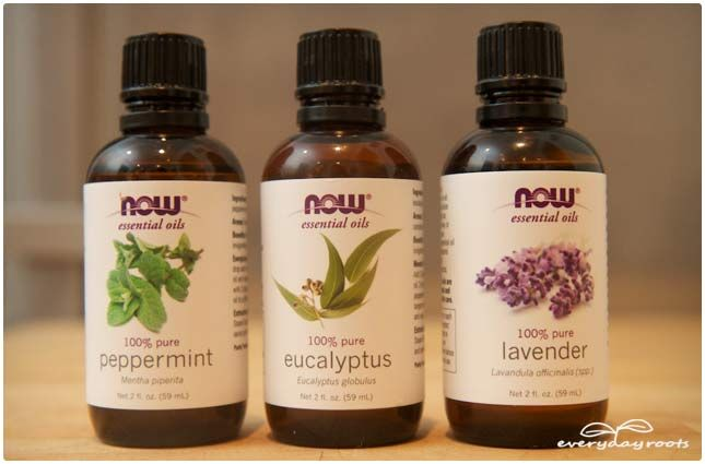 headache balm with tallow, eucalyptus, lavendar EOs