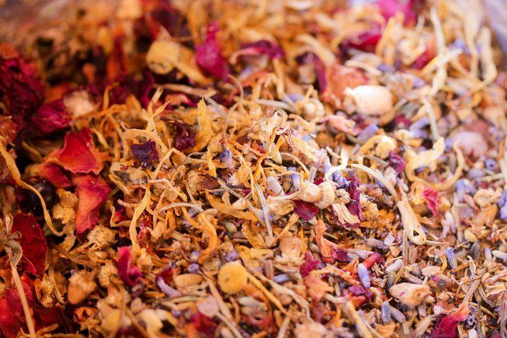 Botanical bath tea by sugarplum soaps
