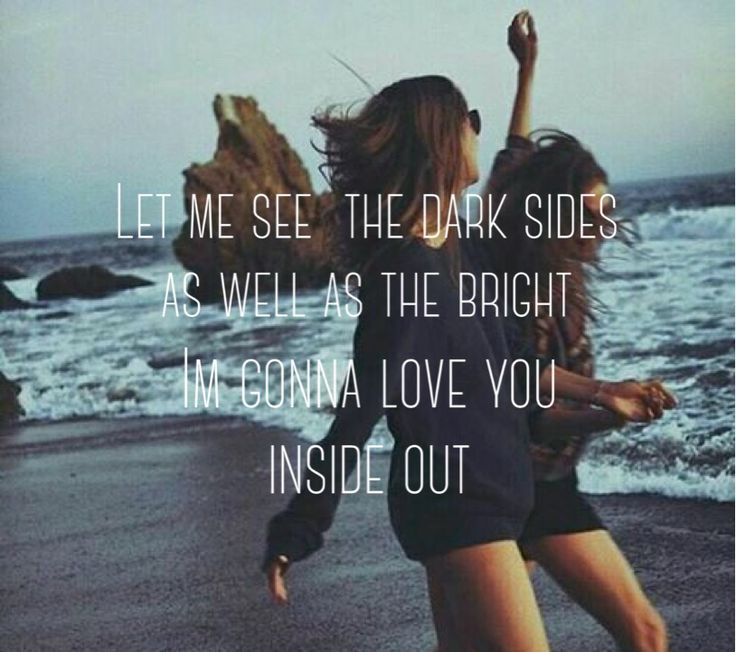 Quote cr: Inside out - The Chainsmokers Photo cr: the owner Photo edited by me.