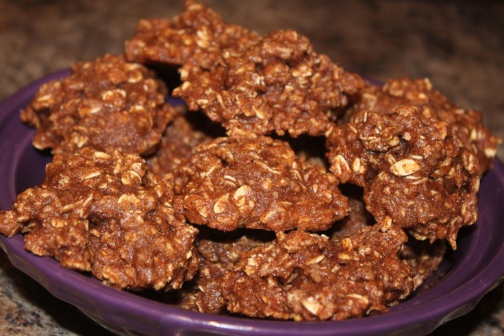 Healthy Cinnamon Oatmeal Cookies- I'm going to try these with kamut or ...