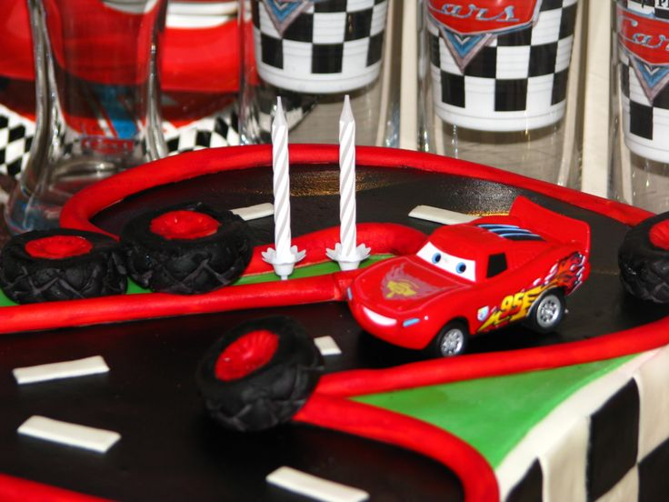 Cars cake for Adrian's 2nd birthday XI