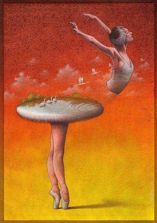 Bailarina. Pawla Kuczynskiego