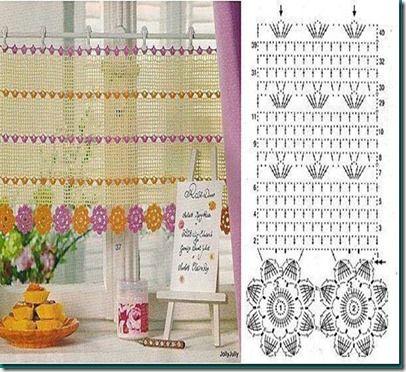cortinas crochet - Pesquisa do Google